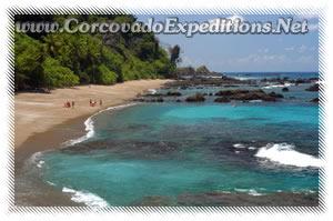 Playa en la Isla del  Caño