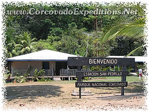 San Pedrillo Station in Corcovado National Park