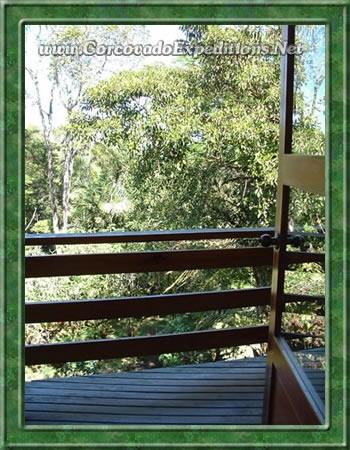 Vista de los Jardínes Botanicos Wilson